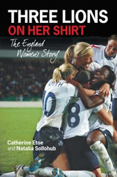 Three Lions on her shirt book cover